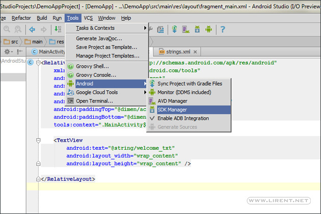 step-1-sdk-manager-android-studio