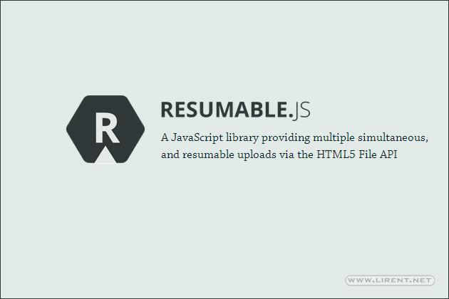Resumable-jquery-script-plugin-download