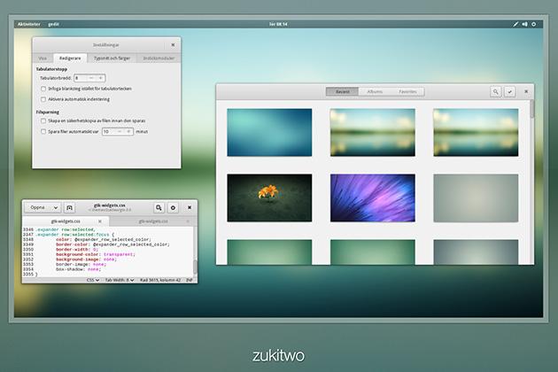 Zukitwo Theme Linux