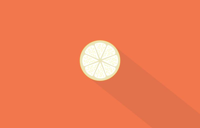 Android Lollipop  wallpapers  Idea LLime Orange